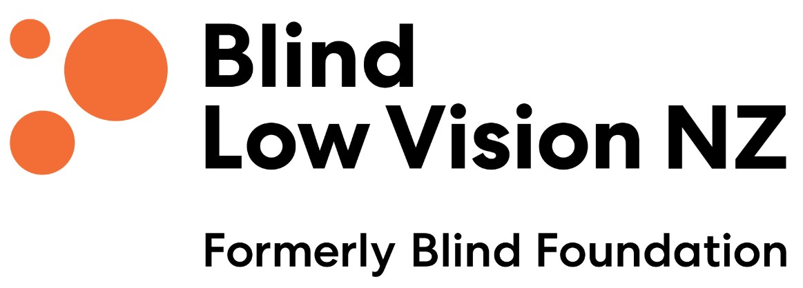 Blind Low Vision NZ logo