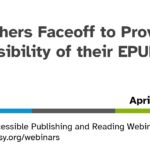 Publishers Faceoff webinar title slide