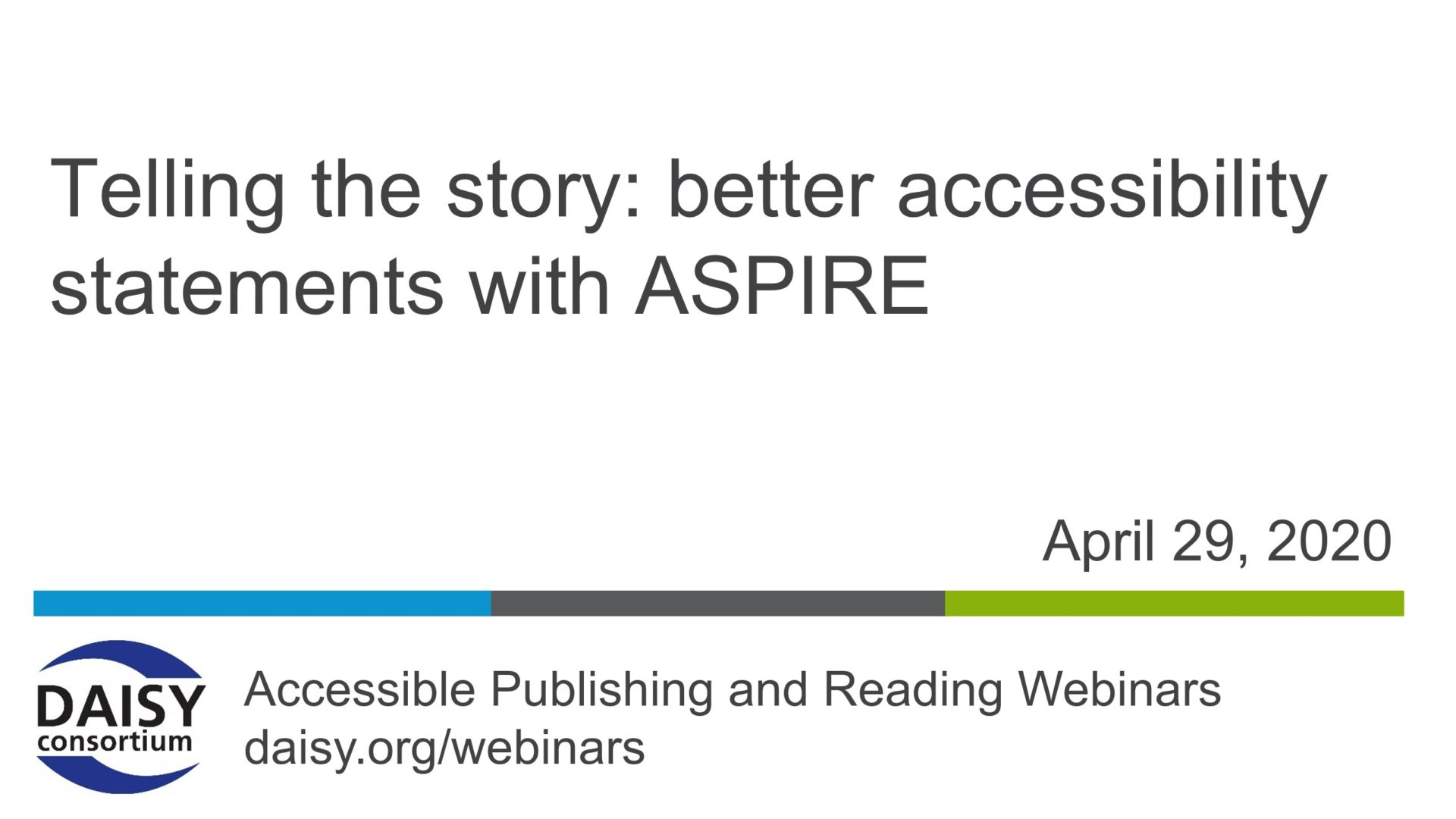 ASPIRE webinar cover slide