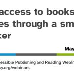 Access to reading through a smart speaker opening slide