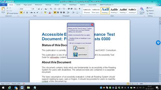 The Intermediate Document Editor Window