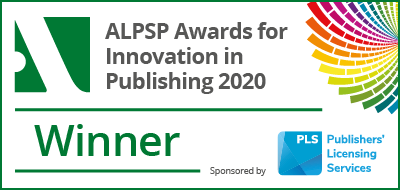 ALPSP Award Winner Badge
