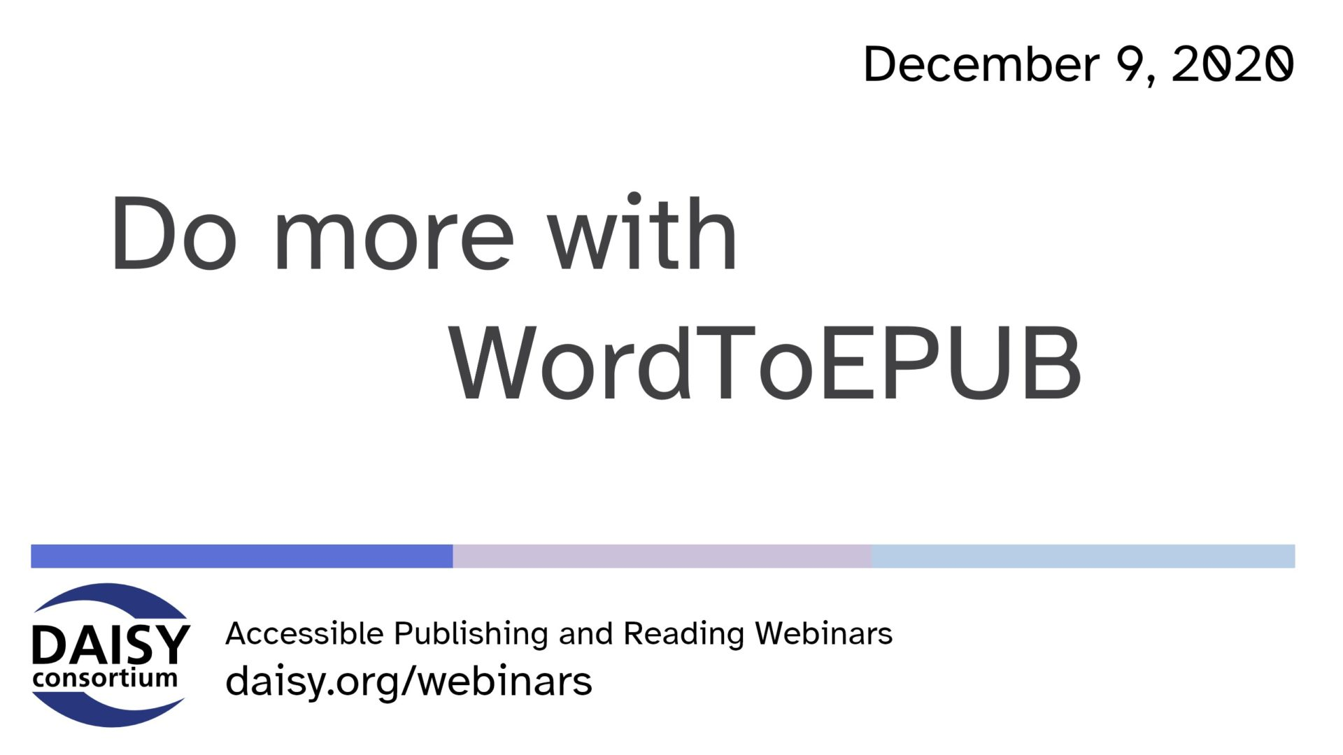Do more with WordToEPUB opening slide