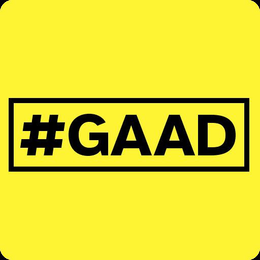 #GAAD icon